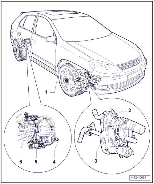 Volkswagen Workshop Manuals > Golf Mk5 > Heating