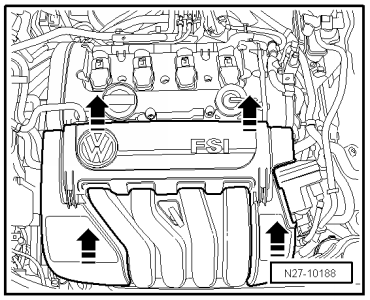 Volkswagen Workshop Manuals > Golf Mk5 > Vehicle electrics