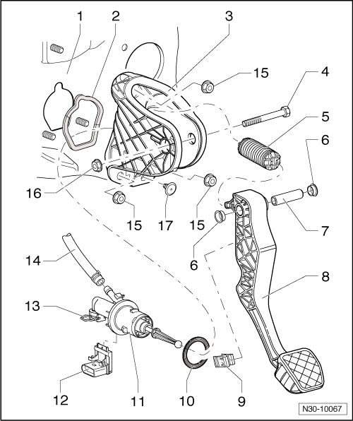 Volkswagen Workshop Manuals > Golf Mk5 > Power transmission > 6-speed manual gearbox 0AJ