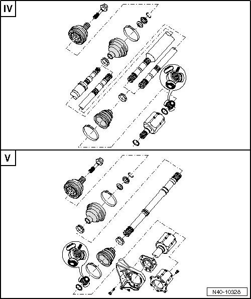 Volkswagen Workshop Manuals > Golf Mk5 > Running gear
