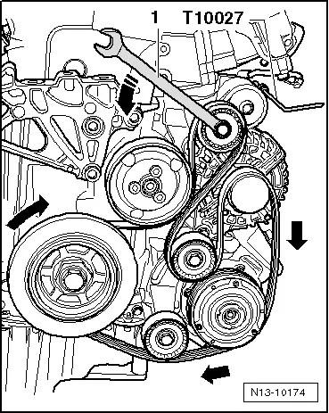 Volkswagen Workshop Manuals Golf Mk5 Power