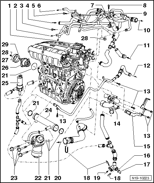 Volkswagen Workshop Manuals > Golf Mk5 > Power unit > 6