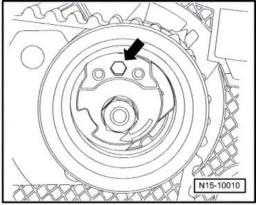 Volkswagen Workshop Manuals > Golf Mk5 > Power unit > 4