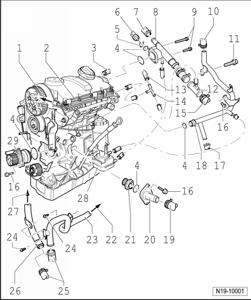 Vw 5 Cylinder Engine Diagram, Vw, Get Free Image About