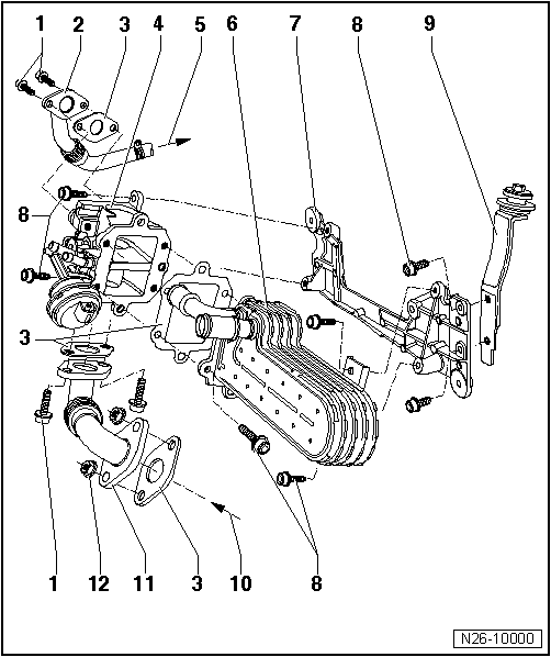Skoda Engine Diagram