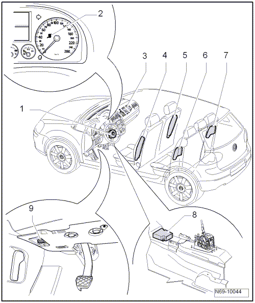 Volkswagen Workshop Manuals > Golf Mk6 > Body > General