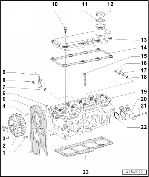 Volkswagen Workshop Manuals > Golf Mk6 > Power unit > 4