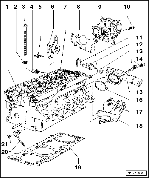 Volkswagen Workshop Manuals > Golf Mk6 > Power unit > 4