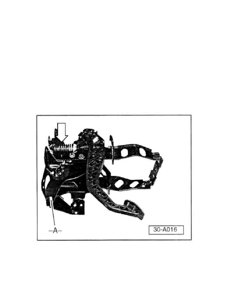 Volkswagen Workshop Manuals > Golf L4-2.0L (ABA) (1996