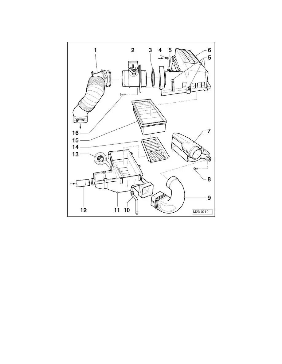 Volkswagen Workshop Manuals > Golf L4-2.0L DSL Turbo (CJAA