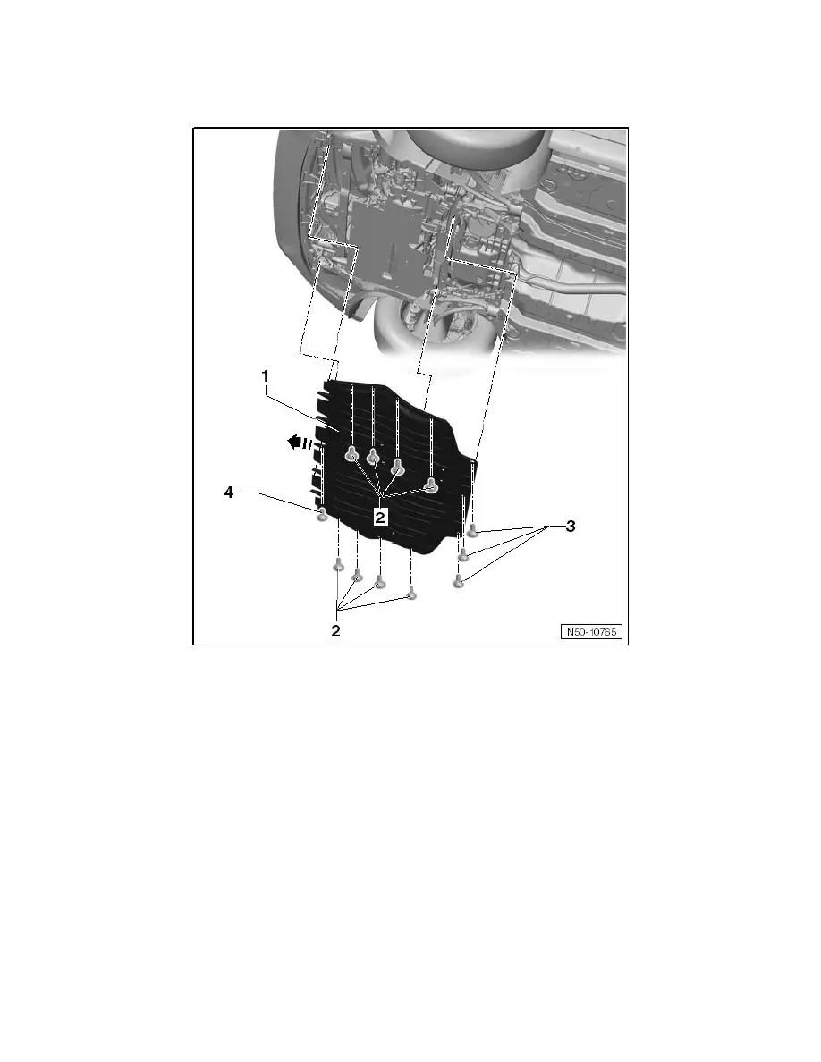 Volkswagen Workshop Manuals > Golf L5-2.5L (CBUA) (2010