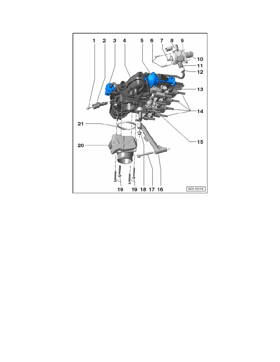 Volkswagen Workshop Manuals > GTI L4-2.0L Turbo (CBFA