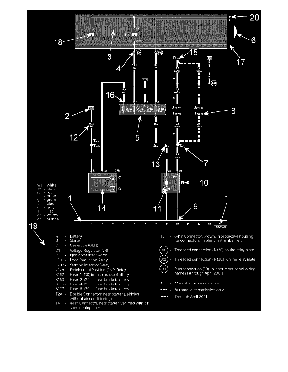 medium resolution of volkswagen workshop manuals u003e jetta l5 2 5l bgp 2006 u003e engine rh workshop manuals com 2004 vw jetta wiring diagram 000979225e 2004 vw jetta wiring