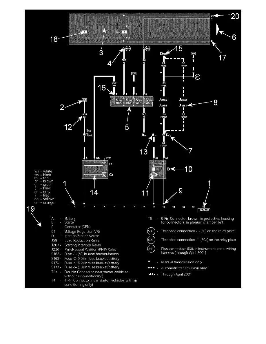 hight resolution of volkswagen workshop manuals u003e jetta l5 2 5l bgp 2006 u003e engine rh workshop manuals com 2004 vw jetta wiring diagram 000979225e 2004 vw jetta wiring