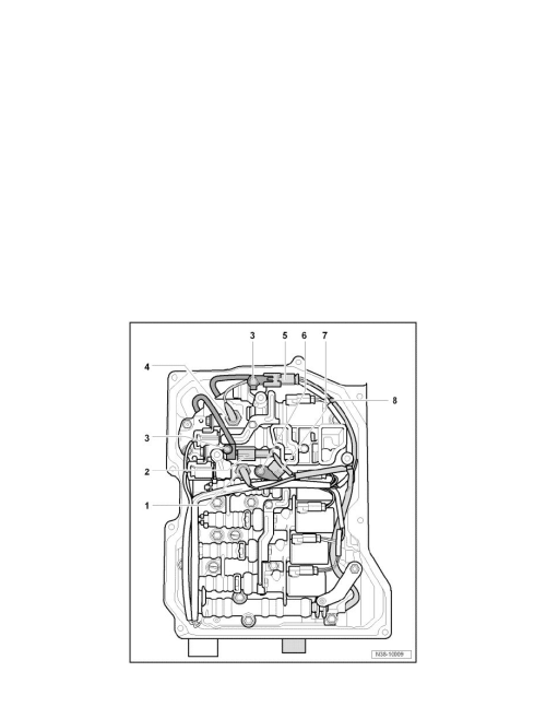 small resolution of transmission and drivetrain automatic transmission transaxle wiring harness a t component information service and repair valve body wiring