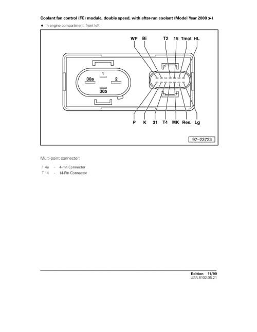 small resolution of volkswagen workshop manuals u003e jetta v6 2 8l bdf 2002 u003e engine 2002 vw jetta gls 2 0 fan belt diagram diagram of 2002 vw jetta fan
