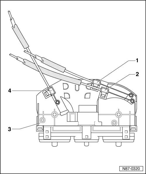 Volkswagen Workshop Manuals > New Beetle > Heating