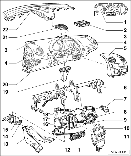 Volkswagen Workshop Manuals > New Beetle > Heating