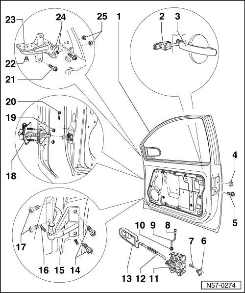 Volkswagen Workshop Manuals > New Beetle > Body > General