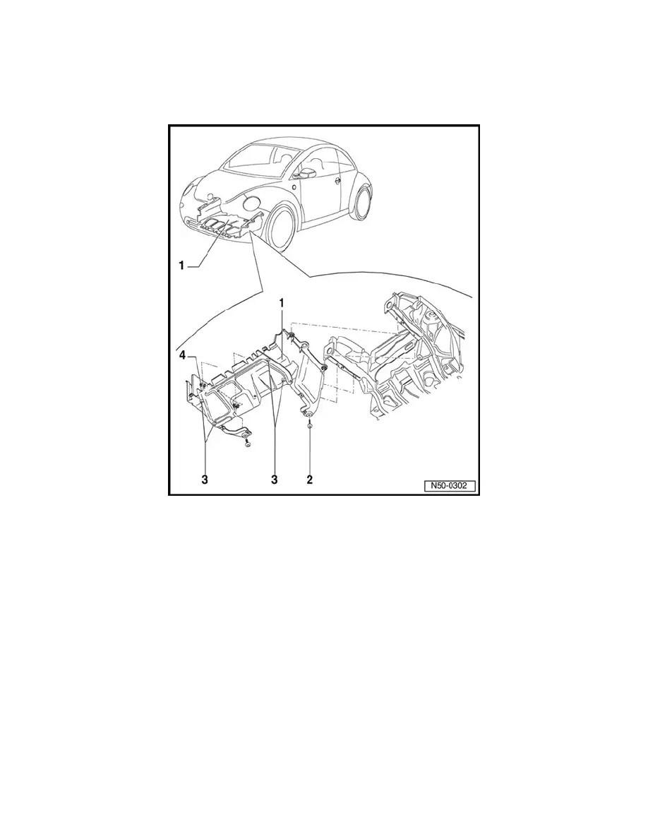 Volkswagen Workshop Manuals > New Beetle L4-2.0L (AZG