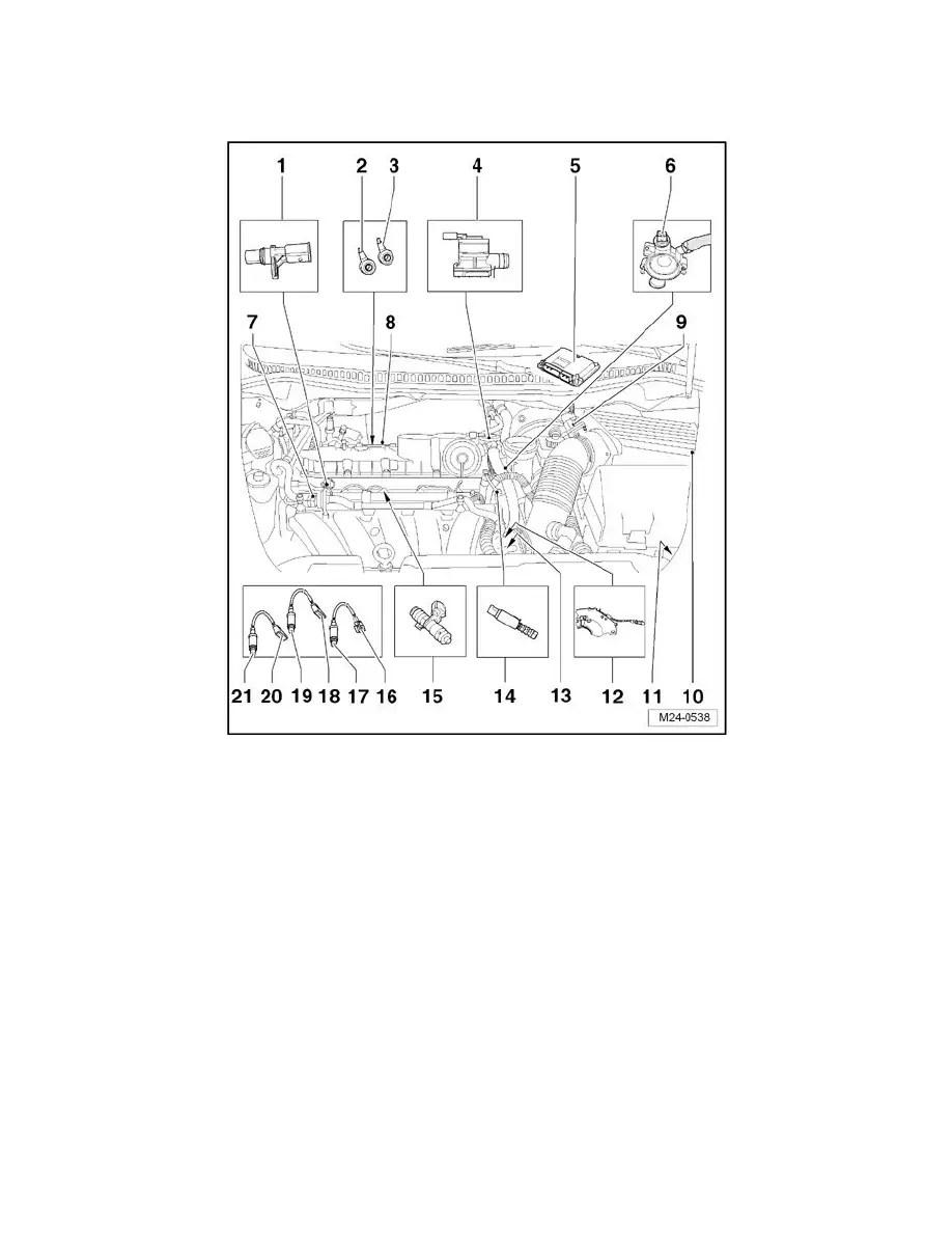 Volkswagen Workshop Manuals > New Beetle L5-2.5L (BPR