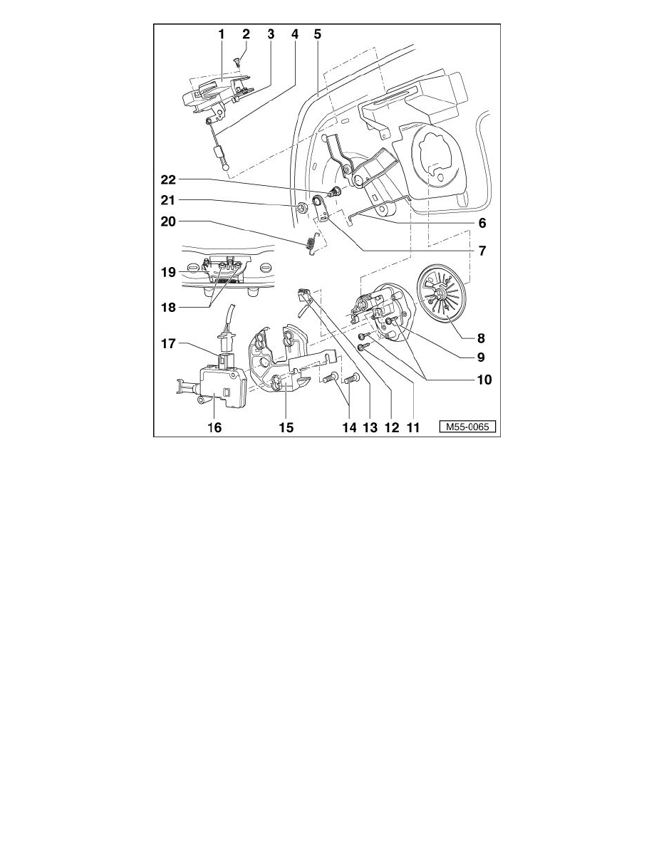 Volkswagen Workshop Manuals > New Beetle Convertible L5-2