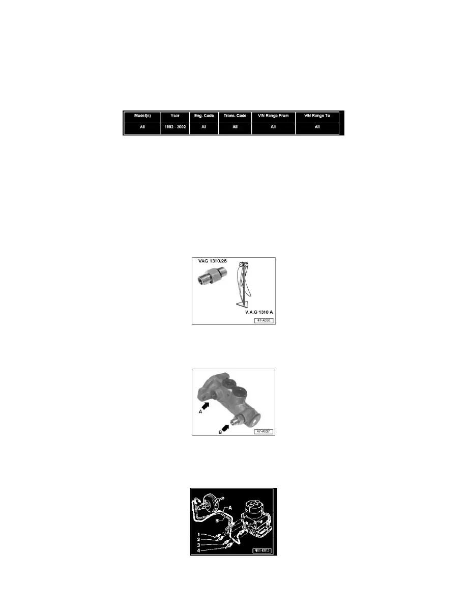 Volkswagen Workshop Manuals > New Beetle GLS L4-1.8L Turbo