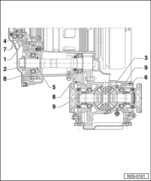 Volkswagen Workshop Manuals > Passat (B3) > Power