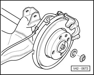 Volkswagen Workshop Manuals > Passat (B3) > Running gear