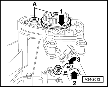 Volkswagen Workshop Manuals > Passat (B3) > Power transmission > 5-Speed manual gearbox 02A