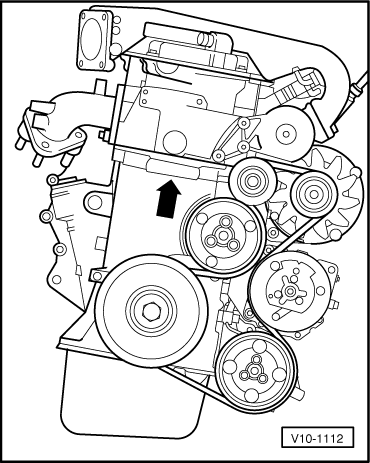 Volkswagen Workshop Manuals > Passat (B3) > Power unit > 6