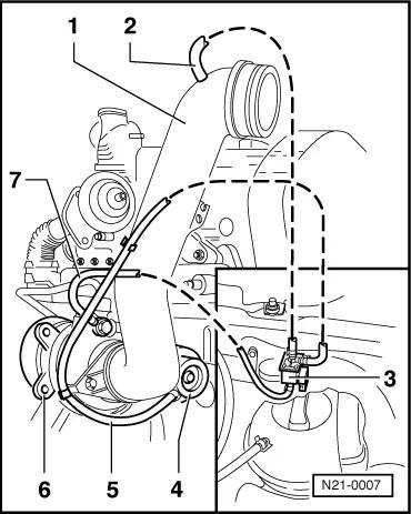 Vacuum Hose: Golf Tdi Vacuum Hose Diagram
