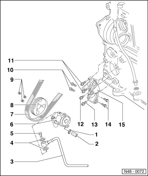Volkswagen Workshop Manuals > Passat (B3) > Running gear
