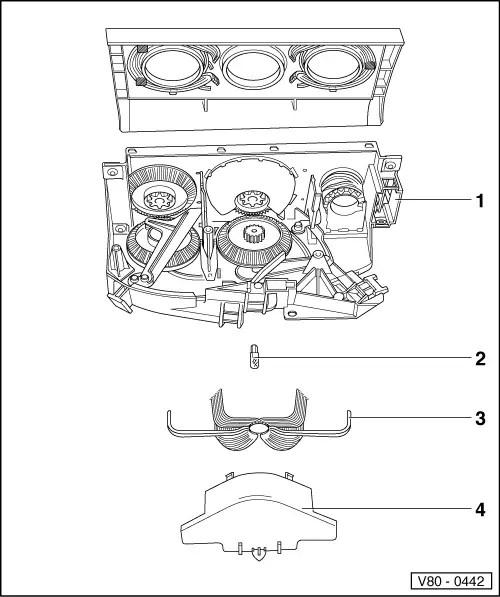 Volkswagen Workshop Manuals > Passat (B3) > Heating