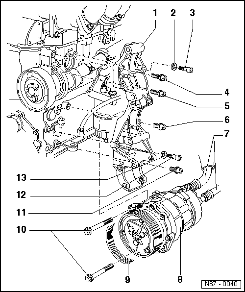 Volkswagen Workshop Manuals > Passat (B3) > Heating, ventilation, air conditioning system