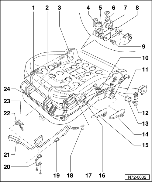 Volkswagen Workshop Manuals > Passat (B3) > Body > General