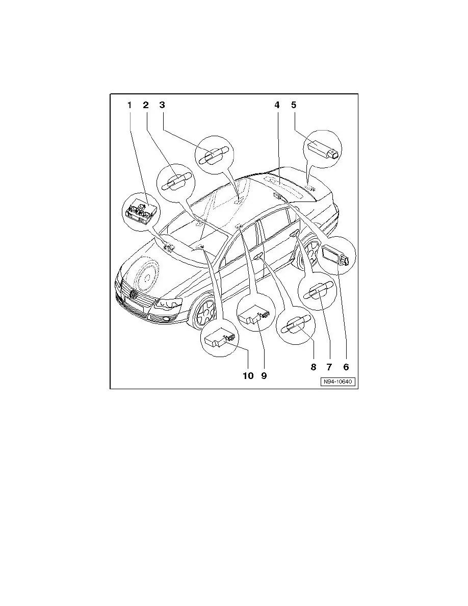 Volkswagen Workshop Manuals > Passat Sedan V6-3.6L (BLV