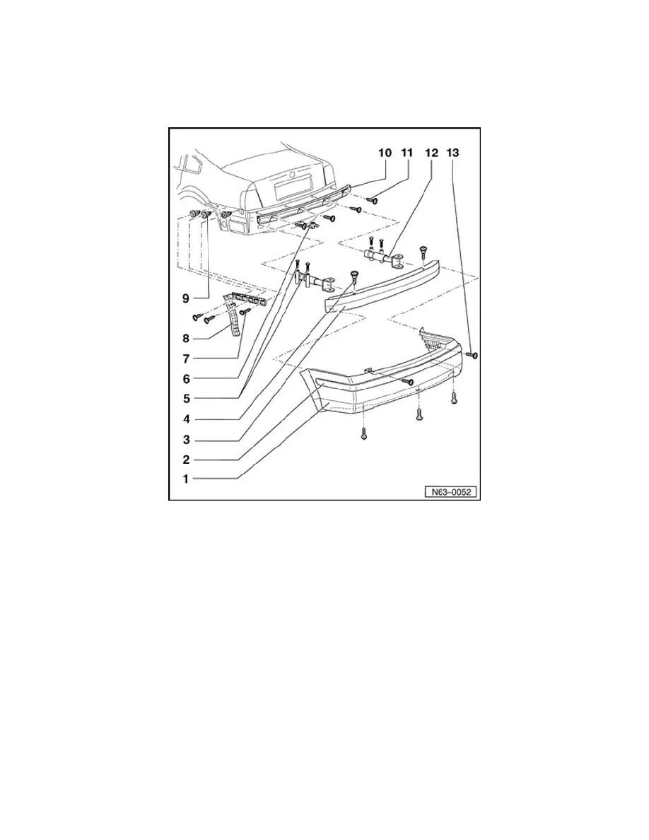 Volkswagen Workshop Manuals > Passat Sedan 4Motion W8-4.0L