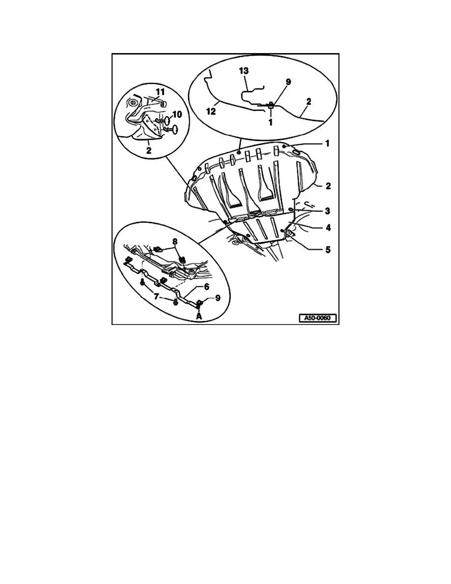 Volkswagen Workshop Manuals > Passat Wagon 4Motion V6-2.8L