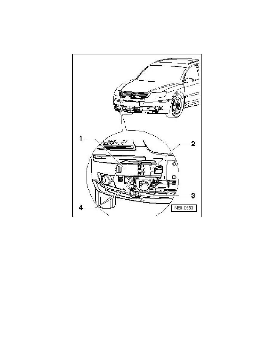 Volkswagen Workshop Manuals > Phaeton V8-4.2L (BGH) (2004