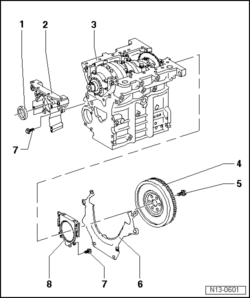 Volkswagen Workshop Manuals > Polo Mk3 > Engine, mechanics