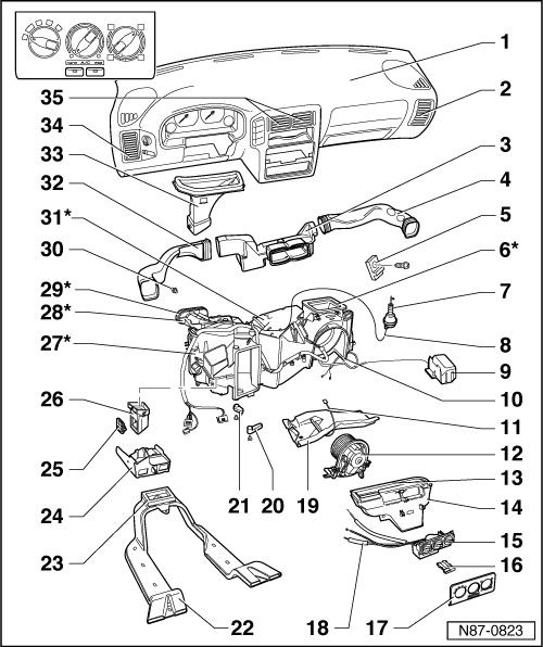 Vw Golf Mk3 Fuse Box. Diagram. Auto Wiring Diagram