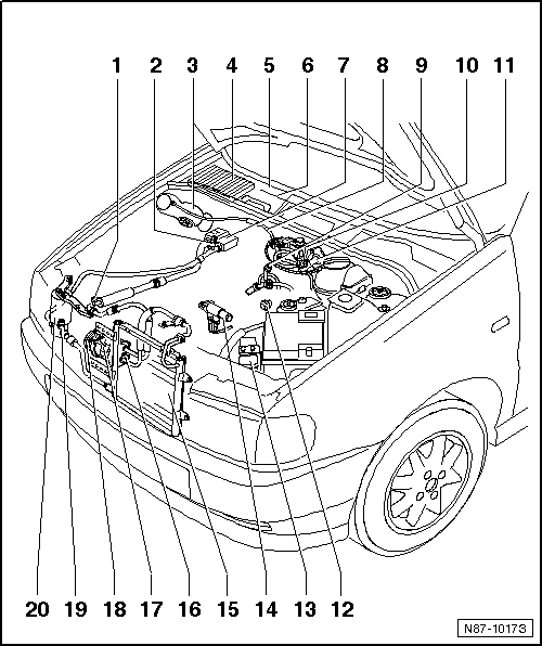 Volkswagen Workshop Manuals > Polo Mk3 > Heating