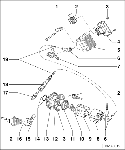 Volkswagen Workshop Manuals > Polo Mk3 > Power unit > Mono