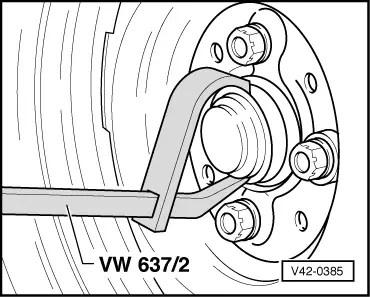 Volkswagen Workshop Manuals > Polo Mk3 > Running gear