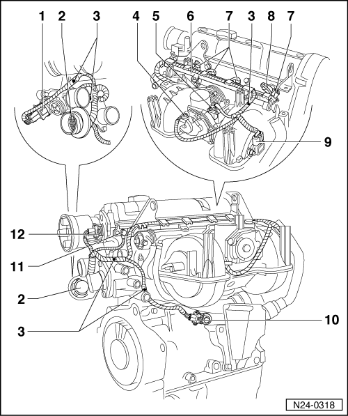 Volkswagen Workshop Manuals > Polo Mk3 > Power unit > 1AV