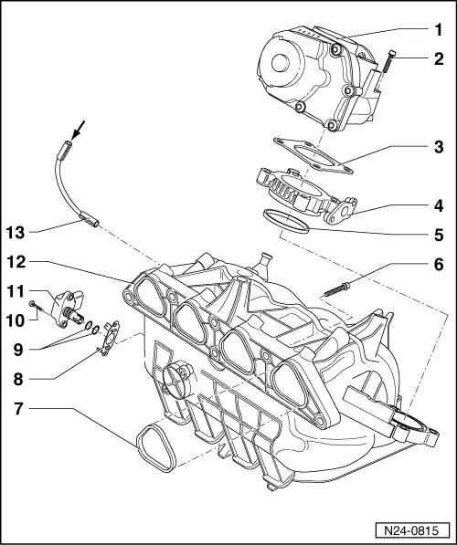 Volkswagen Workshop Manuals > Polo Mk3 > Power unit > 4CV
