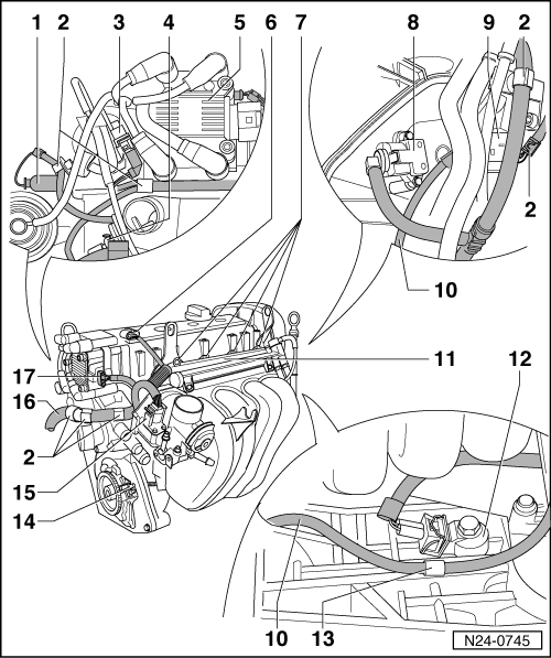 Volkswagen Workshop Manuals > Polo Mk3 > Power unit > 4AV