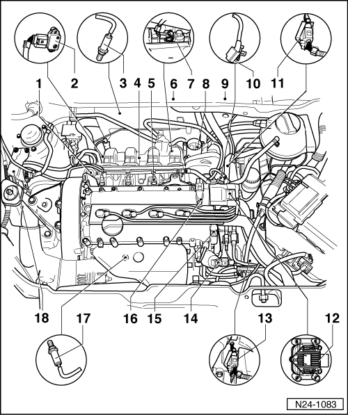 Volkswagen Workshop Manuals > Polo Mk3 > Power unit > 4LV