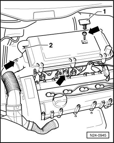 Volkswagen Workshop Manuals > Polo Mk3 > Power unit > 4LV